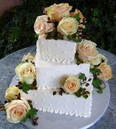 Stacked Wedding cakes #2