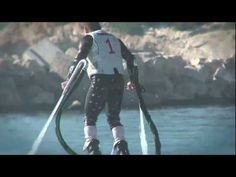 Flyboard Jet-Board kit - Franck Zapata - How to fulfill the dream of flying or swimming like a dolphin
