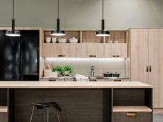 Hana, Conference Room, Kitchen Cabinets, Table, Furniture, Home Decor, Villa, Kitchens, Decoration Home