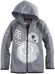 cf5385c5a570 This boys  Star Wars a Collection for Kohl s hoodie features foiled details  and a graphic.