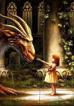 """""""Are you a Dragon?"""" The little girl asks pointing at me. """"Yes, child,"""" I say. """"But I am the last of my kind."""" >>> """"Drake have always been interested in me. I have no clue why. The Dragon within you"""" Fantasy Kunst, Fantasy Art, Dragons, Dragon's Lair, Sword And Sorcery, Fiction Writing, Dragon Art, Pet Dragon, Magical Creatures"""