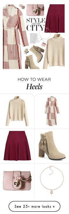"""Statement Coats"" by beebeely-look on Polyvore featuring Jil Sander, Alice + Olivia, Stila, Bobbi Brown Cosmetics, StreetStyle, WorkWear, streetwear, rosegal and statementcoats"