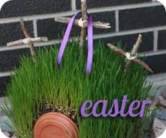 Hill of Calvary Class-Teil 2 Easter Projects, Easter Crafts, Crafts For Kids, Easter Ideas, Good Friday Crafts, Resurrection Day, Easter Season, Easter Activities, Bible Crafts