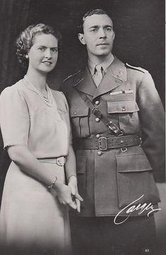 Crown Prince Gustaf Adolf and Crown Princess Sibylla of Sweden