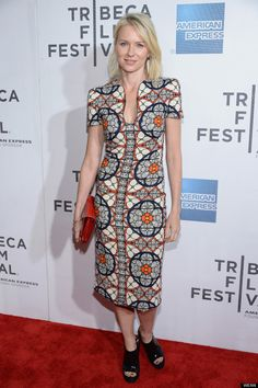 Nay dolls up while attending the premiere of her new flick Sunlight Jr. during the 2013 Tribeca Film Festival on Saturday (April 20) in New York City.