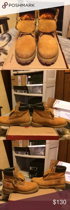 Timberland ''WHEAT'' 8/10 condition size 10 men's Timberland Shoes Boots