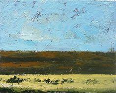 "8 x 10"" tempera on canvas."