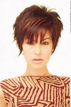 Short and sassy haircuts