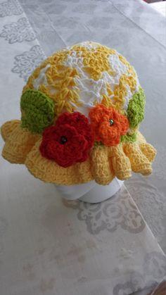 spring hat by itsybitziAngel on Etsy