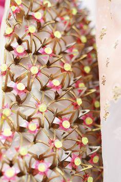 Manish Arora spring 2015, backstage detail.