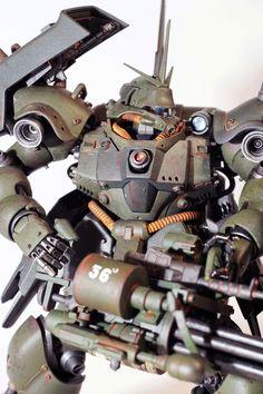 [ Custom Painted ] Geara Doga (Custom Build by Ngo Phong) Gundam Mobile Suit, Gundam Custom Build, Gunpla Custom, Robot Design, Gundam Model, Custom Paint, The 100, Supreme, Building