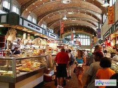 West Side Market, Cleveland, OH.  Oddly enough, I am from the Cleveland area & have never been here!