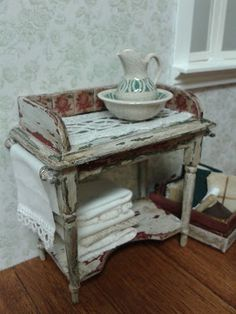 how to: weathered washstand