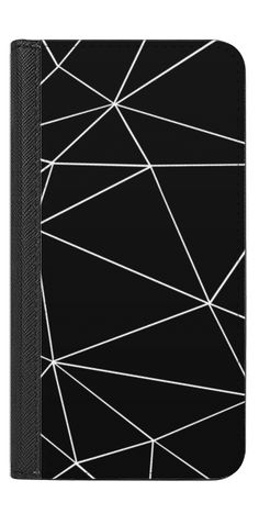 Casetify iPhone 7 Wallet Case - Ab Tri Black by Project M #Casetify iPhone folio black
