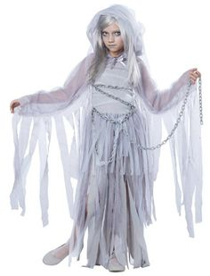 Haunted Ghost Costume - Make a ghostly impression…