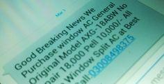 15 منٹ میں 200 ایس ایم ایس بھیجنے پر سروس معطل کر دی جائے گی : پی ٹی اے  #SMS #SMSspam #SMSMarketing #Spam   http://www.itnama.com/2014/03/200-sms-in-15-minutes-will-get-your-sms-service-blocked/