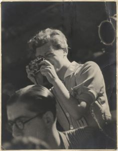 Throughout #WomensHistoryMonth, we'll be honoring female photographers—the trailblazers who captured life from behind the lens. First up, the pioneering photojournalist, Gerda Taro.   Portrait of Gerda Taro, Guadalajara front, July 1937