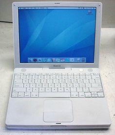 "Apple iBook A1054 G4 800MHz/256MB/30GB/cd-rom/OSX10.4.11/12.1"" display 718908514696   eBay"