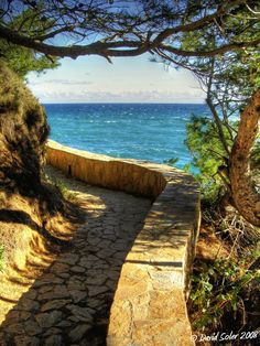 Coastal paths of Costa Brava: Sa Riera (Begur, Girona) Dream Vacations, Vacation Spots, The Places Youll Go, Places To See, Begur Costa Brava, Wonderful Places, Beautiful Places, Places In Spain, Barcelona Travel