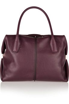 Tod's D-Cube Bauletto medium leather tote | NET-A-PORTER