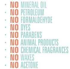 Not found in Arbonne products! - so many chemicals can add to cancer risk. Having had cancer myself now I only use Arbonne's pure, safe and beneficial products.