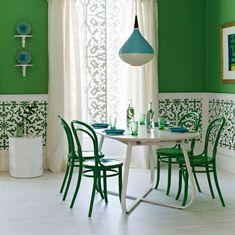 [систематизация рукодельных идей] - Цвет в интерьере. Зеленый.