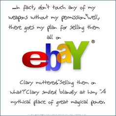 """Jace not knowing about the """"magical"""" eBay ; )"""