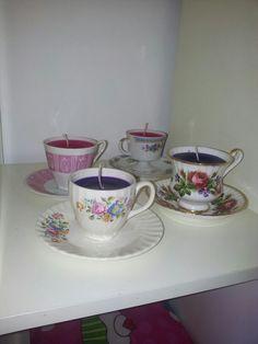 Vintage kaarsen