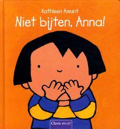Niet bijten, Anna! (2014). Auteur: Kathleen Amant.