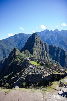Machu Picchu, Peru - One of the 7 Wonders of the World, and somewhere you should definitely add to your travel plans! Read all about why!