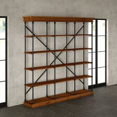 Cabin Furniture, Office Furniture, Bookshelves, Bookcase, Open Concept, Home Organization, Building A House, New Homes, Rustic