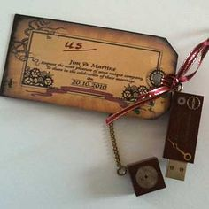 steampunk-wedding-invitation
