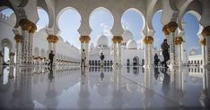 Nice The 10 world landmarks that have to be on your bucket list The Sheikh Zayed Grand Mosque, in Abu Dhabi, United Arab Emirates, features eighty-two white domes. Image: Getty Images By Cailey . Spain Images, Italy Images, Milan Duomo, Alhambra Spain, Peru Image, Medieval Fortress, Grand Mosque, Angkor Wat, World Traveler