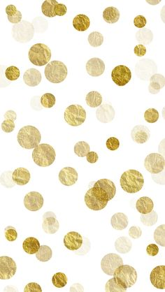 Gold Sparkles Bokeh Free iPhone Background