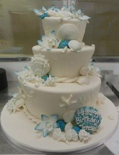 Beach Theme - by Carlo's Bakery