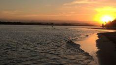 Golden evening on the Richmond River. Ballina