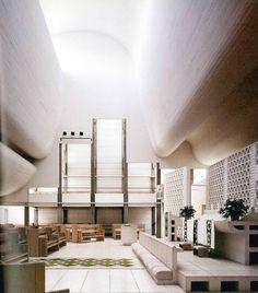 Jørn Utzon > Bagsværd Church | HIC Arquitectura