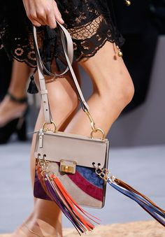 Check out the new bags from Chloe's Spring 2016 runway show.