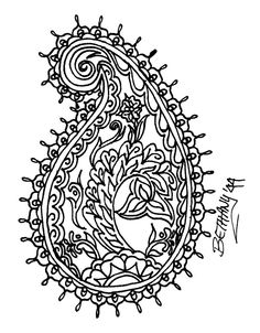 mehndi 25 by redLillith on deviantART