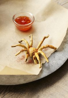 Um no thanks fried tarantula