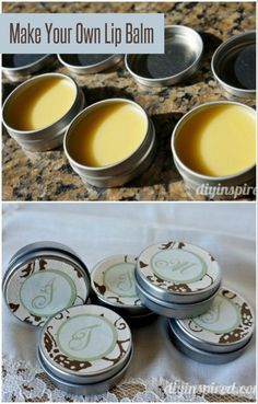 How to Make Your Own Lip Balm - DIY Inspired