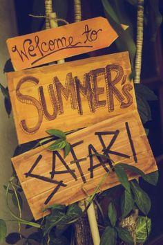 Summer's Safari Party