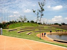 amphitheater at freedom park. pretoria, south africa.