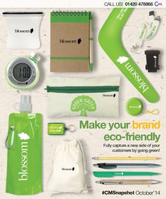 Promotional Eco-Friendly Merchandise! Click the following link to view products > http://www.completemerchandise.co.uk/more-promotional-ideas/promotional-eco-friendly-products.html?limit=all