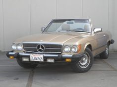 1982 Mercedes-Benz, 380SL Mercedes-Benz 380 SL 1982 automatic in good condition  This 1982 380 SL cabriolet was delivered to Bruce McCall. His signature and delivery date are sealed in the engine compartment. This car has a 3818CC, V8, 218 HP engine and automatic gearbox. This makes it a great driving car. The beige paint is beautiful on this car and is typical for his time. Paint is in good condit ..  http://www.collectioncar.com/detailed.php?ad=66379&category_id=1