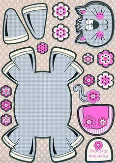 Kat knutselen met kleuters