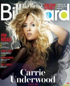 Carrie Underwood on Billboard Magazine cover