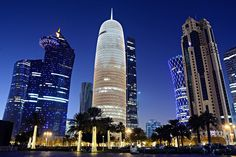 All About Qatar, QATAR , a fully independent sovereign Arab state on the western shore of the Persian Gulf.Doha's 2000 population is about 355,000 , growing