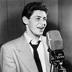 Eddie Fisher August, 1928 - September, 2010 ~~~~ His voice rang out so clearly.  He was a natural and his singing showed such enthusiasm.