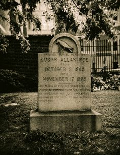 Edgar Allen Poe's original grave - I spend a day and a half in Baltimore making sure this was one of my stops.  Baltimore looks like a pretty amazing city.  I'll get back there someday.
